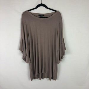 SUZANNE BETRO bell sleeve top size XL